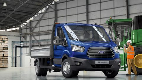 Nuovo Ford Transit Chassis
